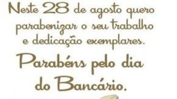 28 DE AGOSTO DE 2020: Dia do Bancário (a)! Dia de luta!