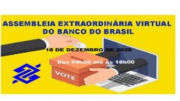 ASSEMBLEIA GERAL EXTRAORDINÁRIA ONLINE ESPECÍFICA PARA EMPREGADOS DO BANCO DO BRASIL S.A.