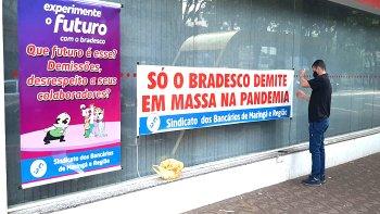 BRADESCO LUCRA QUASE R$ 20 BI EM 2020, MAS DEMITE E FECHA AGÊNCIAS