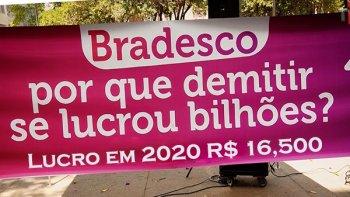 BRADESCO FECHA 1.083 AGÊNCIAS E DEMITE 7.754 PESSOAS EM 2020