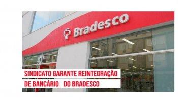 BRADESCO: SINDICATO REVERTE DEMISSÃO DE BANCÁRIO EM ESTABILIDADE PRÉ-APOSENTADORIA