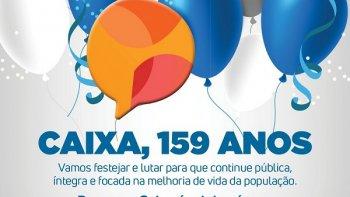 CAIXA COMPLETA 159 ANOS