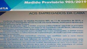 CAIXA AMEAÇA QUEBRAR CONTRATOS E AMPLIAR JORNADA DE TRABALHO PARA 8 HORAS