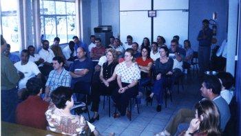 GREVE DOS EMPREGADOS DO BESC - NOVEMBRO 2001