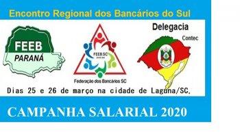 ENCONTRO REGIONAL DOS BANCÁRIOS DO SUL 2020