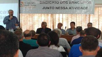 TEM INICIO HOJE O ENCONTRO REGIONAL DE BANCÁRIOS DA REGIÃO SUL