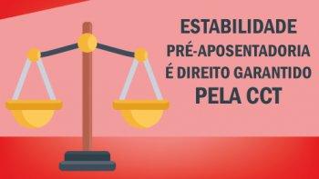 DEBATE SOBRE A ESTABILIDADE NA PRÉ-APOSENTADORIA