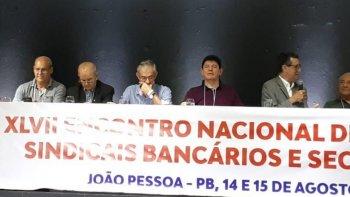 FEEB SC PARTIPA DO XLVII ENCONTRO NACIONAL DE DIRIGENTES SINDICAIS EM JOÃO PESSOA - PARAÍBA