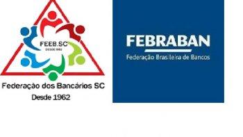 VIDEOCONFERÊNCIA: FEDERAÇÃO BANCÁRIOS DE SANTA CATARINA X FEBRABAN