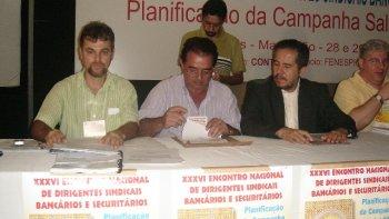 ENCONTRO NACIONAL DIRIGENTES SINDICAIS BANCÁRIOS NO MARANHÃO - JUNHO - 2007