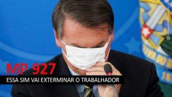 PARECER JURÍDICO DA MP 927/2020, DE 22 DE MARÇO 2020