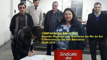 REUNIÕES REGIONAIS - CAMPANHA SALARIAL 2018