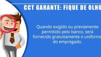 UNIFORME -  CLAUSULA 37ª DA CCT BANCÁRIOS