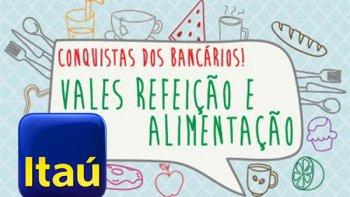 ANTECIPAÇÃO 13ª CESTA ALIMENTAÇÃO - BRADESCO DIA 26, ITAÚ DIA 27/10