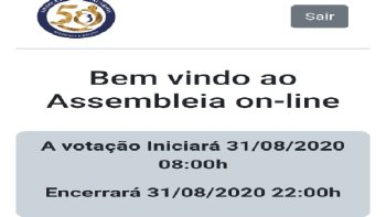 ASSEMBLEIA VIRTUAL/ONLINE DO SINDICATO DOS BANCÁRIOS DE RIO DO SUL E REGIÃO